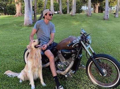 Miguel Iglesias, el hijo mayor del cantante Julio Iglesias y la modelo Miranda Rijnsburger