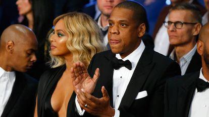Beyoncé y Jay-Z, en Las Vegas, en 2015.