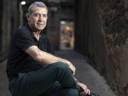 Paco Boya, síndico de Aran, en Barcelona.