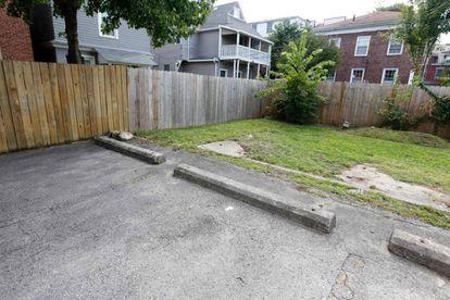 El lugar en el que murió Tyree King en Columbus, Ohio