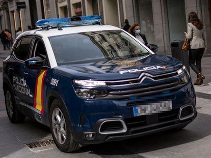 Una patrulla de la Policía Nacional en una imagen de archivo.