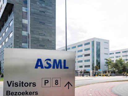 Sede central de ASML en Veldhoven, Países Bajos.