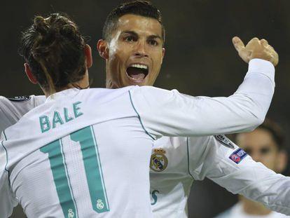 Cristiano Ronaldo celebra un gol frente al Borussia Dortmund