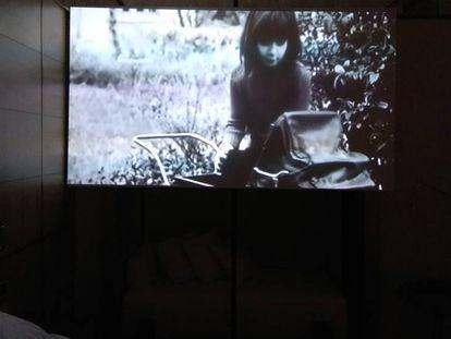 Fotograma de la dura 'Mater Amatisima', de María Ruido, que puede verse en Loop.