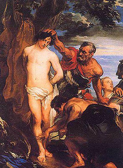 <i>El martirio de San Sebastián</i>.
