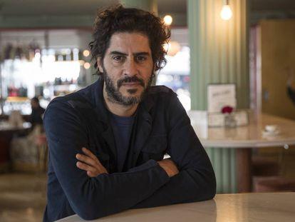 El humorista gráfico argentino Juan Matías Loiseau, más conocido como Tute, en Madrid.