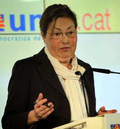 La portavoz de UDC, Marta Llorens.