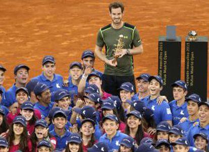 Murray celebra su título