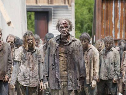 Fotograma de la serie sobre zombis 'The Walking Dead'