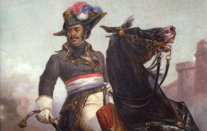 Thomas-Alexandre Dumas, retratado por Olivier Pichat.