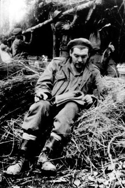 El Che en la selva boliviana.