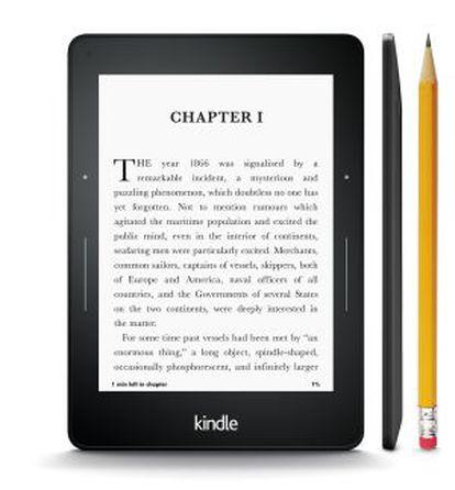 El nuevo Kindle Voyage.
