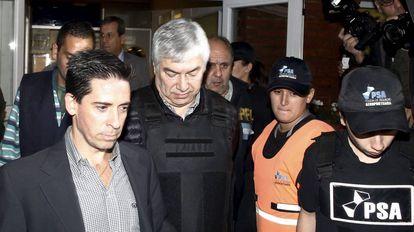 El empresario argentino Lázaro Báez, el año pasado en el aeropuerto de Buenos Aires.