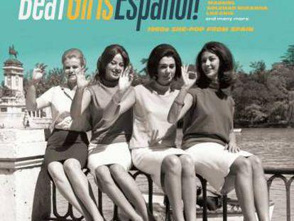 La portada del LP de 'Beat girls español'.