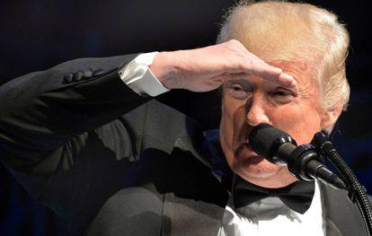 Trump, en una gala el sábado en Washington