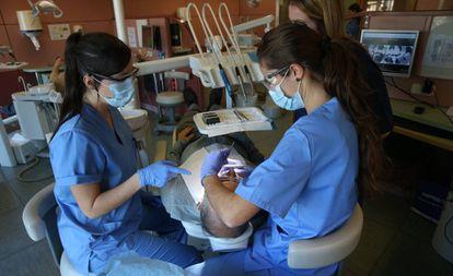 Clinica Dental de la Facultad de Odontologia de la Universidad Complutense de Madrid.