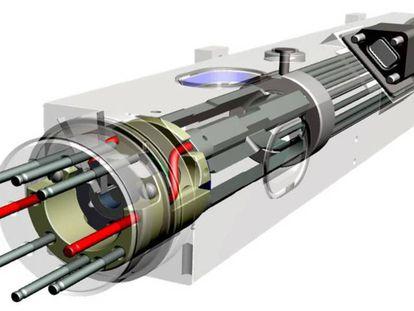 Imagen del Deep Space Atomic Clock publicada por Jet Propulsion Laboratory.