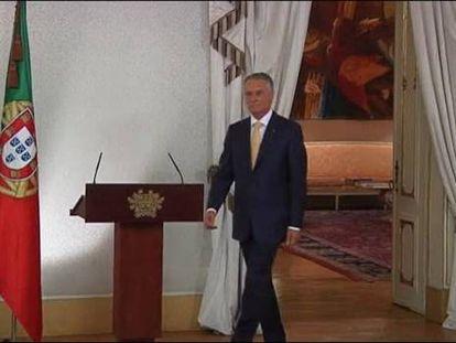 El presidente de Portugal zanja la crisis confirmando al Gobierno en funciones