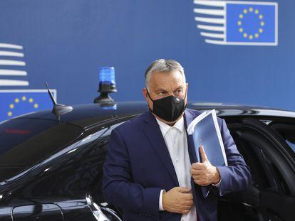 El primer ministro húngaro, Viktor Orbán, el pasado 15 de octubre en Bruselas.
