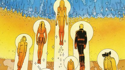 Viñeta de 'El Incal' (L'Incal) Moebius y Alejandro Jodorowsky (1981)