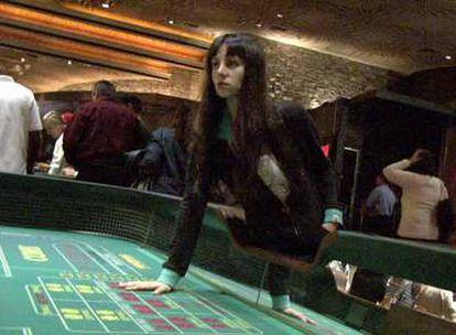 Mala Rodríguez, en un casino de Las Vegas, adonde viajó el pasado enero para grabar su disco.