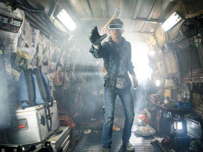 Tye Sheridan, en 'Ready Player One', de Steven Spielberg.