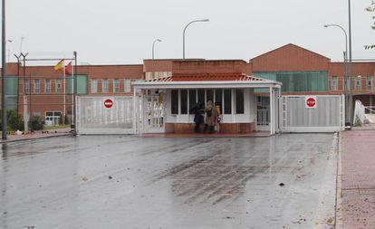 Entrada al Centro Penal Madrid IV, ubicado en la localidad de Navalcarnero.