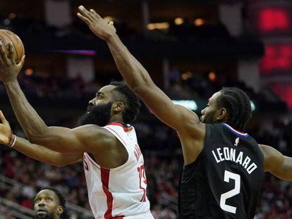 Harden supera a Leonard n el Rockets-Clippers.