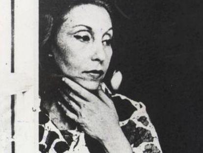 La escritora brasileña Clarice Lispector, que el día 10 de diciembre cumpliría cien años.