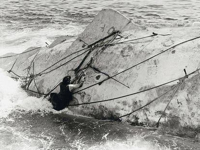 Escena de la película 'Moby Dick', de 1956, dirigida por John Huston.