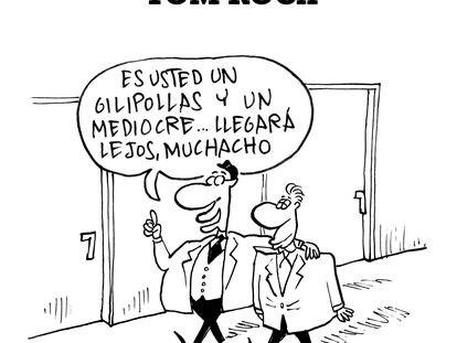 Portada de las memorias del humorista gráfico Antoni Roca, TOM.