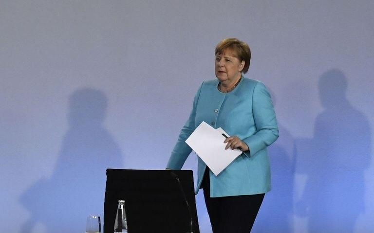 La canciller alemana, Angela Merkel, anuncia en la noche del miércoles un paquete de estímulo para la economía del país.
