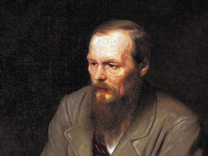 Dostoievski, retratado por Vasili Perov en 1872.