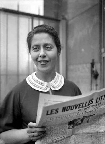 La escritora Irène Némirovsky, fotografiada en 1938.