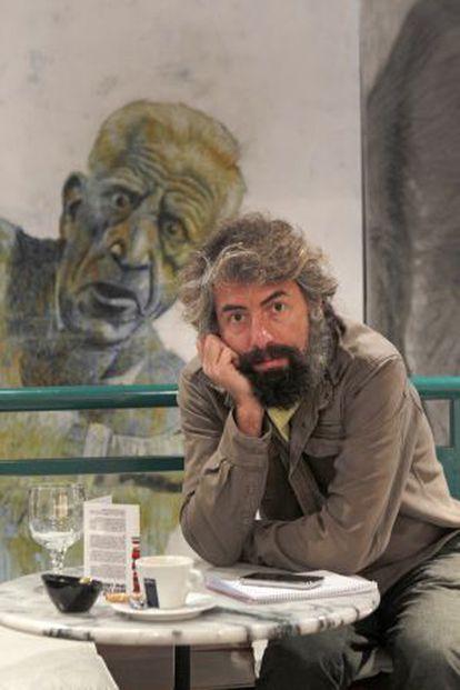 El músico Antonio Luque, líder de la banda Sr. Chinarro.