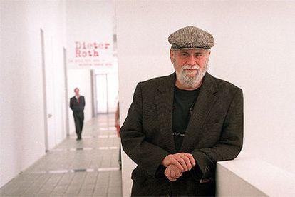 El filósofo y crítico de arte norteamericano Arthur C. Danto, en Barcelona.