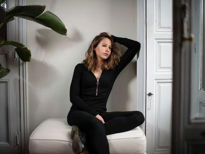 La actriz Irene Escolar, la semana pasada en Madrid.