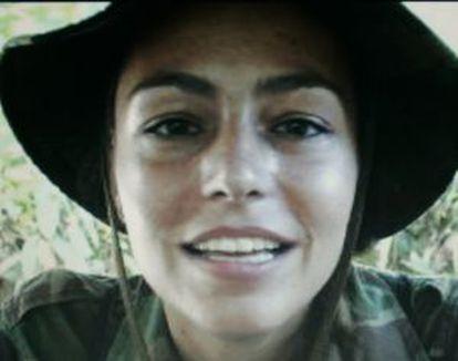 Imagen difundida en septiembre de 2007 de la holandesa Tanja Nijmeijer, una de las portavoces de las FARC que no acudirá a las reuniones de Oslo.