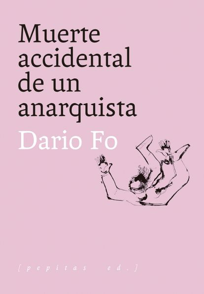 Portada de 'Muerte accidental de un anarquista', de Dario Fo.