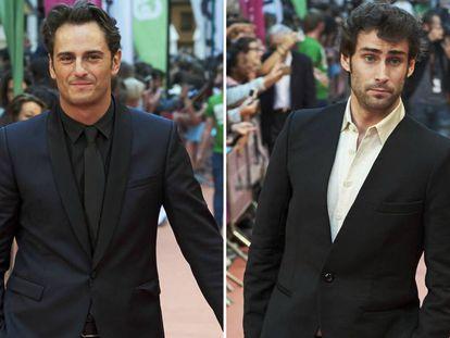 Los actores Asier Etxeandia y Fernando Guallar.