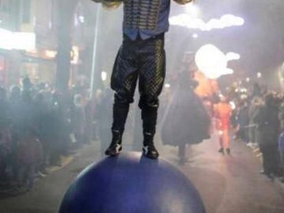 Imagen promocional del espectáculo 'Antropo-Circus'.