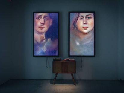 La instalación 'Memories of Passersby I', de Mario Klingemann.