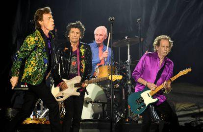 Mick Jagger, Ronnie Wood, Charlie Watts y Keith Richards en un concierto en Pasadena el pasado 22 de agosto.