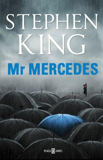 Portada del libro 'Mr Mercedes' de Stephen King.