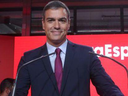 Somos la izquierda que no se avergüenza de la palabra España , asegura Pedro Sánchez durante la presentación de la campaña para el 10-N
