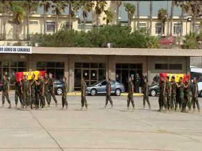 Llegan a España los cuerpos de los militares muertos en Afganistán