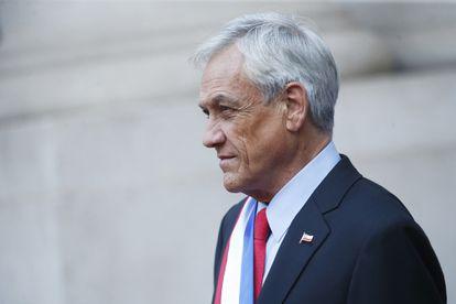 El presidente Sebastián Piñera, durante una comparecencia en julio de 2020, en Santiago de Chile.