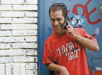El Langui, cantante del grupo de hip hop agitanado La Excepción, y director del podcast Radio Taraská, muy escuchado por jóvenes gitanos.