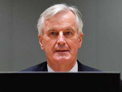 El antiguo negociador jefe europeo del Brexit, Michel Barnier, lanza su candidatura al Elíseo