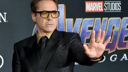Robert Downey Jr en la Premiere 'Avengers: Endgame' en Los Ángeles en 2019.
